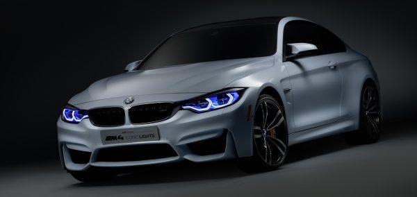 BMW M4 Concept Iconic Lights – Inovatiile BMW la Consumer Electronics Show (CES) 2015 de la Las Vegas
