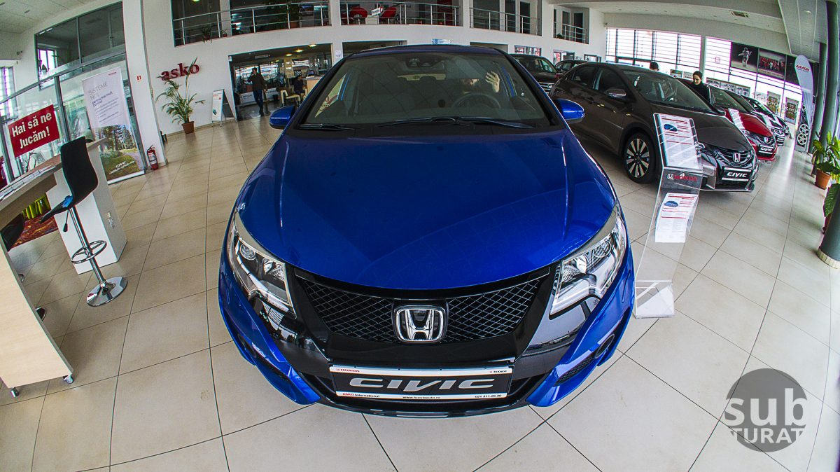 honda civic blue