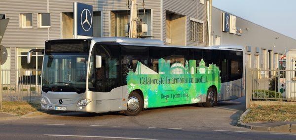 RATB testeaza noul Mercedes-Benz Citaro cu motor Euro VI