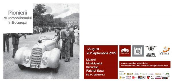 Pionierii automobilismului in Bucuresti