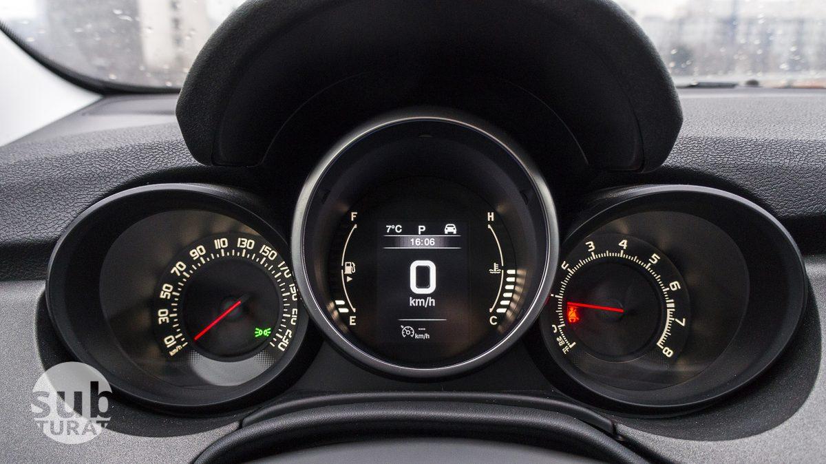 Fiat 500X Interior - Detail