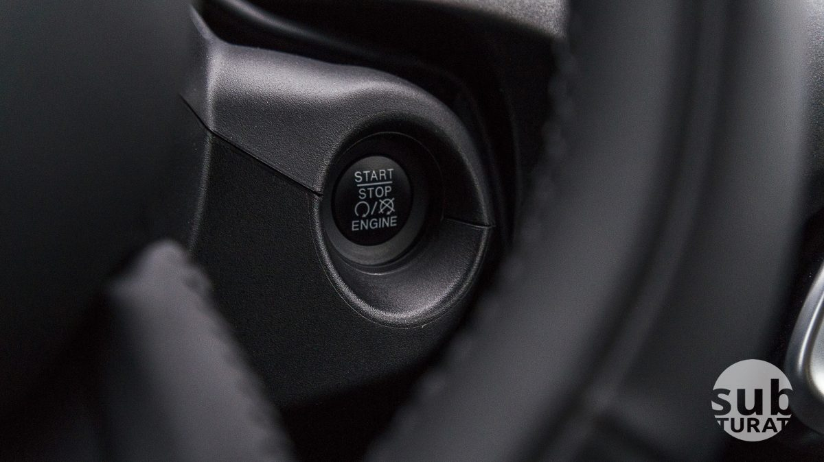 Fiat 500X Interior - Start Stop Button