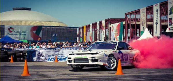 Asii driftului vor incinge asfaltul la Auto Total Business Show