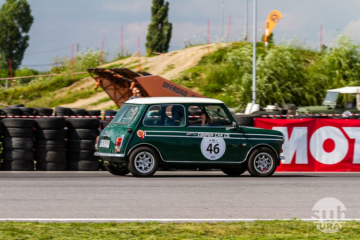 Retro Mini Cooper circuit