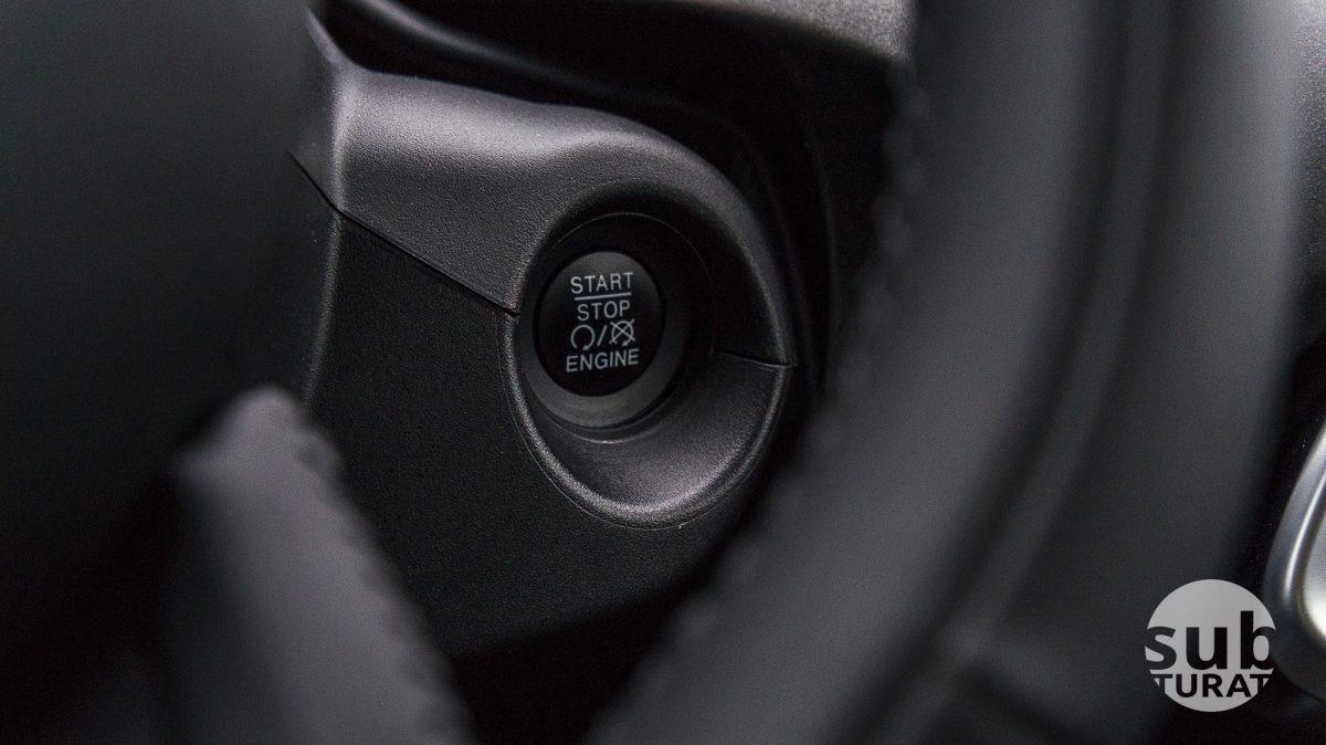 Fiat 500X Interior - Start Stop Button